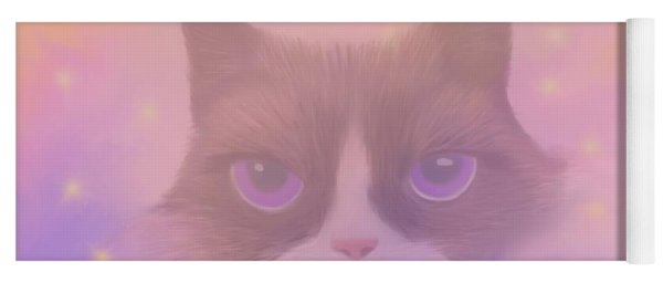 Cosmic Cat Yoga Mat