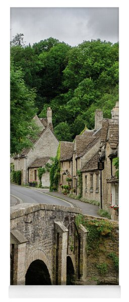 Cotswolds Village Castle Combe Yoga Mat