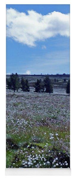Cotton Grass Moor Yoga Mat