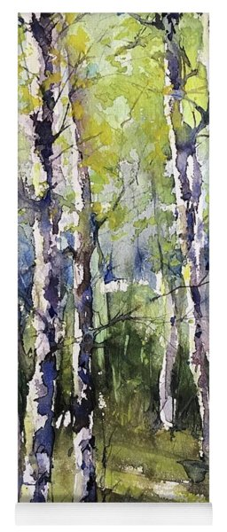 Cottonwoods And Sycamores Yoga Mat