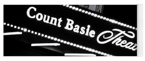 Count Basie Theatre In Lights Yoga Mat