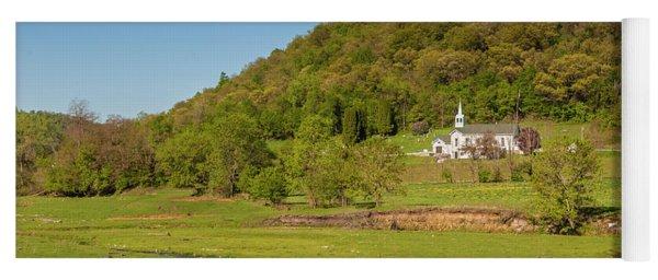 Country Church  Yoga Mat