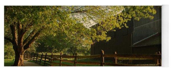 Country Morning - Holmdel Park Yoga Mat