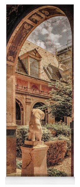 Paris, France - Courtyard East - L'ecole Des Beaux-arts Yoga Mat