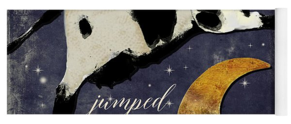 Cow Jumped Over The Moon Yoga Mat