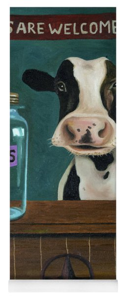 Cow Tipping Yoga Mat