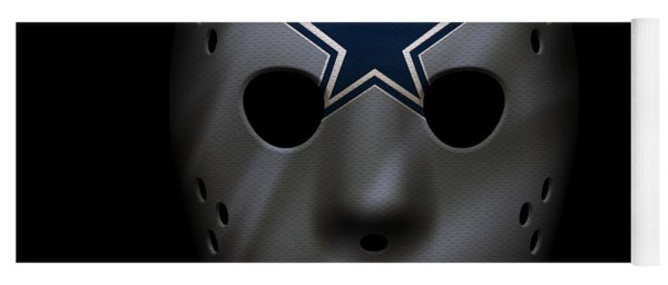 Cowboys War Mask 2 Yoga Mat