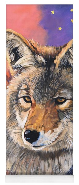 Coyote The Trickster Yoga Mat