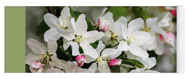 Crabapple Blossoms 13 - Yoga Mat