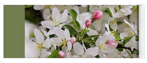 Crabapple Blossoms 5 Yoga Mat
