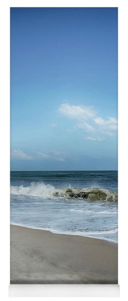 Yoga Mat featuring the photograph Crashing Waves by Judy Hall-Folde