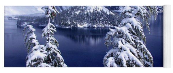 Crater Lake Yoga Mat
