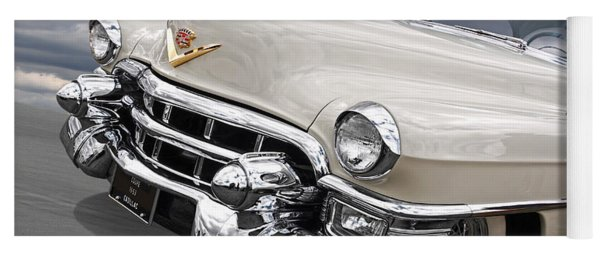 Cream Of The Crop - '53 Cadillac Yoga Mat