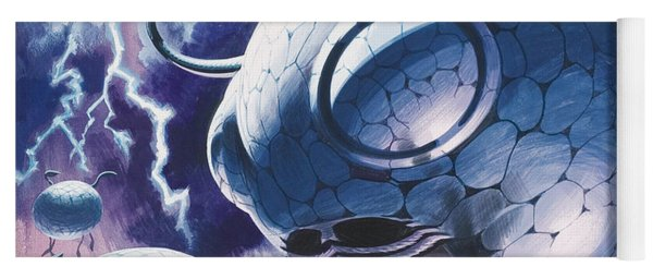 Creatures In Outer Space  Yoga Mat