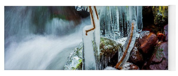 Creekside Icicles Yoga Mat