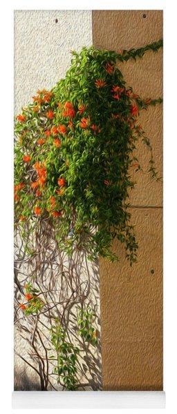 Creeping Plants Yoga Mat