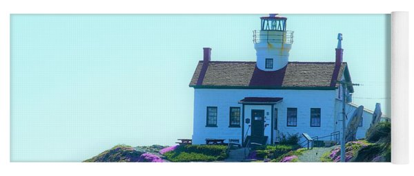 Crescent City Lighthouse Yoga Mat