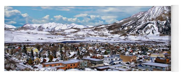 Crested Butte Panorama Yoga Mat