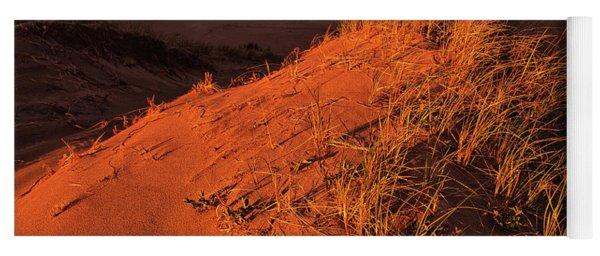 Crimson Dunes Yoga Mat