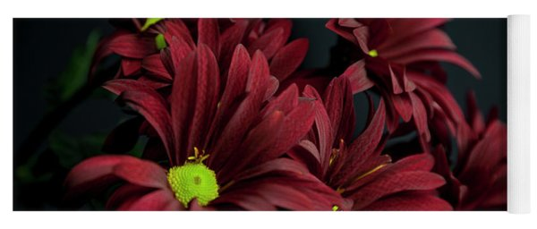 Yoga Mat featuring the photograph Crimson Lime by Eric Christopher Jackson