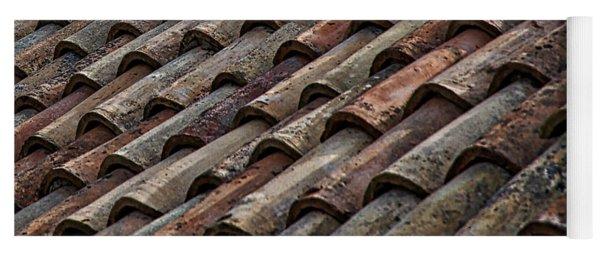 Croatian Roof Tiles Yoga Mat