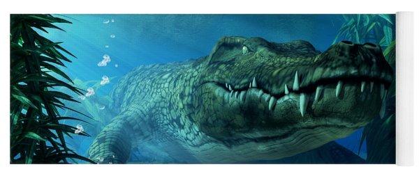 Crocodile Yoga Mat