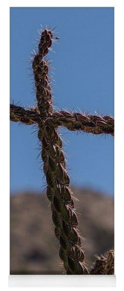 Cactus Cross Yoga Mat