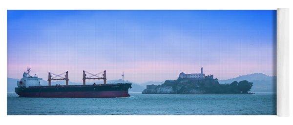 Crossing Alcatraz Yoga Mat