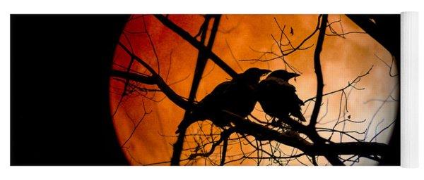 Crows Moon Yoga Mat