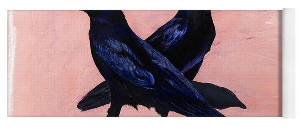 Crows Yoga Mat