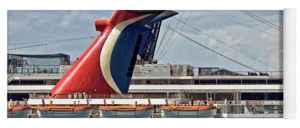 Cruise Ships In Cozumel, Mexico Yoga Mat
