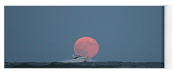Cruising On A Wave During Harvest Moon Yoga Mat