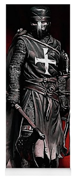 Crusader Warrior - Medieval Warfare Yoga Mat