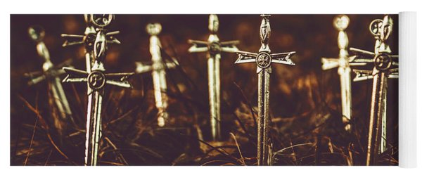 Crusaders Cemetery Yoga Mat