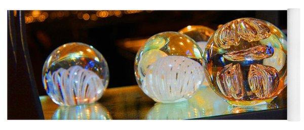 Crystal Balls Yoga Mat