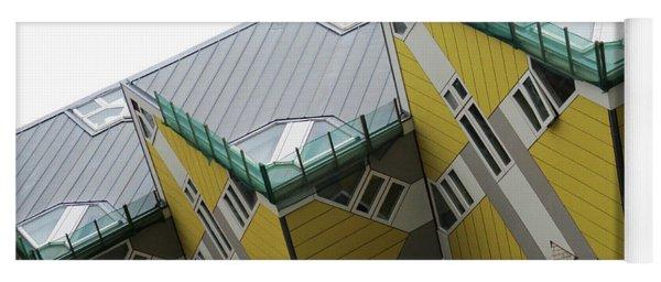 Cube Houses 14 Yoga Mat