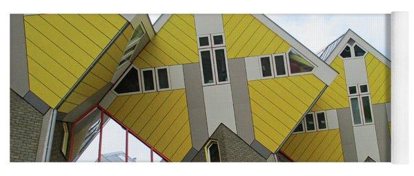 Cube Houses 25 Yoga Mat