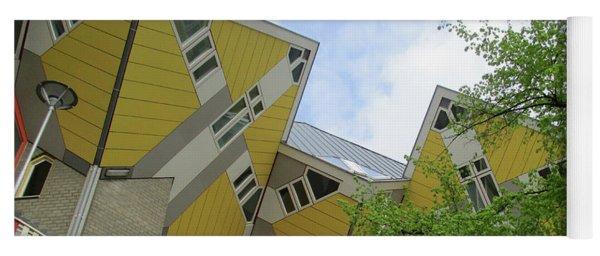 Cube Houses 29 Yoga Mat
