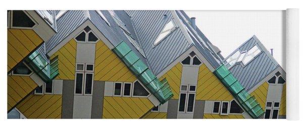 Cube Houses 34 Yoga Mat