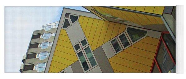 Cube Houses 35 Yoga Mat