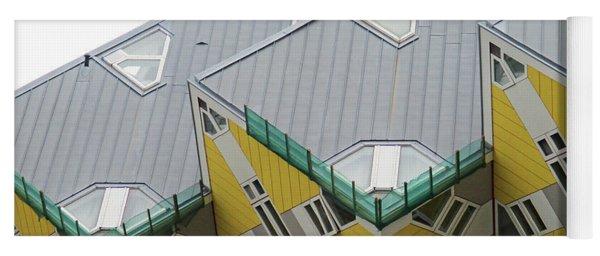 Cube Houses 9 Yoga Mat