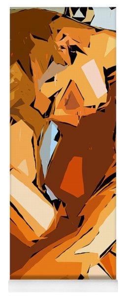 Cubism Series Ix Yoga Mat