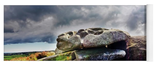 Cup And Saucer Rock Carn Brea Yoga Mat