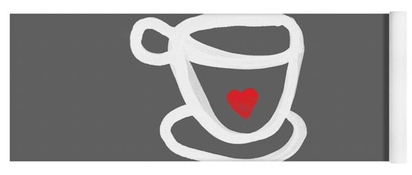 Cup Of Love- Shirt Yoga Mat