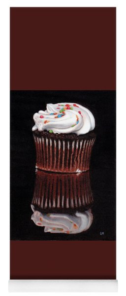 Cupcake Reflections Yoga Mat