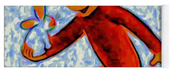 Curious George Yoga Mat
