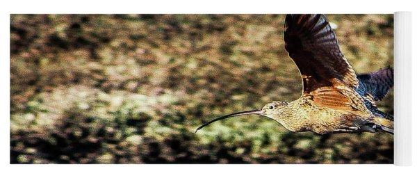 Curlew In Flight Yoga Mat