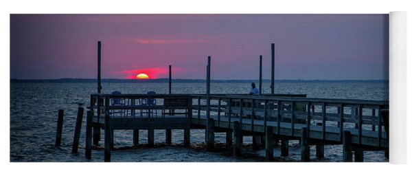 Currituck Sunset Yoga Mat
