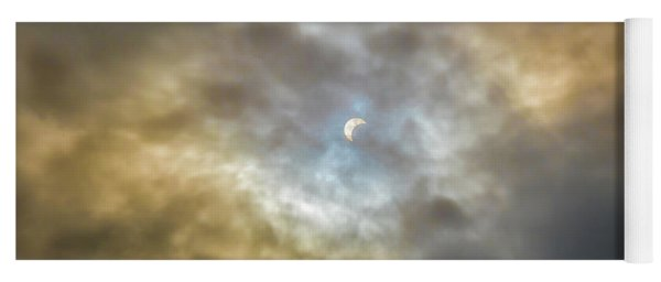 Curtain Of Clouds Eclipse Yoga Mat