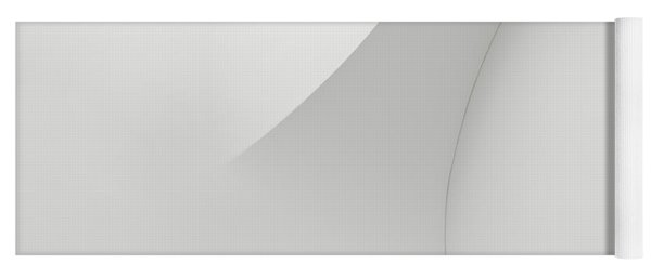 Curved Lines 1 Yoga Mat